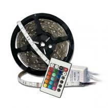 TIRA DE LEDS RGB 5M + CONTROLADOR