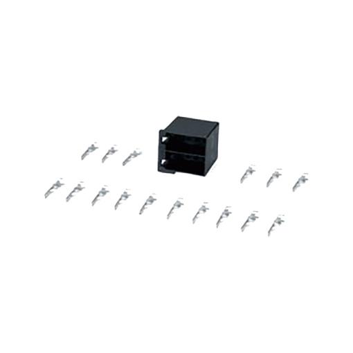 Conector autoradio ISO hembra 16 polos en kit